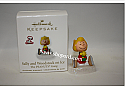 Hallmark 2010 Sally and Woodstock on Ice Continuity Program The Peanuts Gang QRP1033