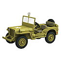 Hallmark 2012 Ford 1943 GPW Jeep Ornament QXI2074