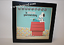 Hallmark Peanuts Snoopy Framed Print Happiness Is Writing Your Own Story PAJ1115