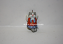 Hallmark 1999 Celestial Kitty Miniature Porcelain Ornament QXM4639