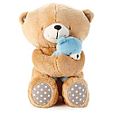 Hallmark Forever Friends Boy Snuggle Bear