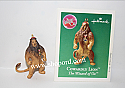 Hallmark 2003 Cowardly Lion Miniature Ornament The Wizard of Oz QXM4219