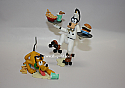 Hallmark 2005 Order Up Ornament Goofy and Pluto set of 2 QRP4082 Slightly Damaged Box