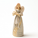 Enesco Foundations Caregiver Mini Angel Figurine 4025643