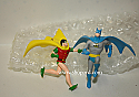 Hallmark 1999 Classic Batman And Robin Set Of 2 Miniature Ornament QXM4659