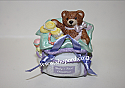 Hallmark 2001 Babys First Christmas Ornament Diaper Bag QX8362