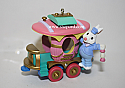 Hallmark 2000 Caboose Spring Ornament 5th and Final In The Cottontail Express Series QEO8464