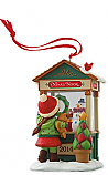 Hallmark 2014 Christmas Window 12th in the Christmas Windows series Keepsake Ornament Club (KOC) QXC5076