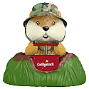 Hallmark 2017 Keepsake A Dynamite Gopher Ornament QXI3072