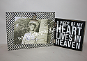 Primitive By Kathy A Piece Of My Heart Lives In Heaven Hinged Frame 4x6 Photo 25507
