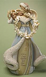 Enesco Foundations Christmas Angel Figurine 4022670