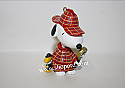 Hallmark 2000 Peanuts The Detective Ornament 3rd In The Spotlight On Snoopy Series QX6564 Damaged Box