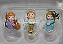 Hallmark 2005 Angelic Trio Miniature Ornament set of 3 QXM8162