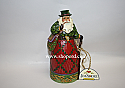 Jim Shore Nollaig Shona Dhuit Irish Santa Figurine 4017647