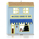 Hallmark 2015 Keepsake Korners Pet Shop Ornament 32nd In the Nostalgic Houses and Shops Series QX9139
