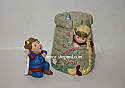 Hallmark 1998 Rapunzel 2pc Set Merry Miniatures Figurine QSM8483 Damaged Box
