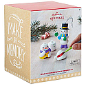Hallmark 2017 Build-Your-Own Snowman Ornament Kit 0517