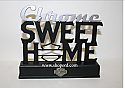 Hallmark Harley Davidson Chrome Word Cut Out Sweet Home DAV1415