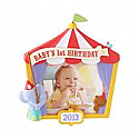 Hallmark 2013 Baby's 1st Birthday Ornament Photo holder QXG1822