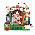 Hallmark 2012 Our Visit With Santa Ornament Photo holder LPR3871