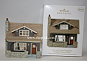 Hallmark 2011 Arts and Crafts Bungalow Ornament 28th in the Nostalgic Houses and Shops series QX8729