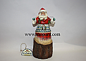 Jim Shore Natures Noel Lodge Santa with Garland Figurine 4024280