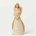 Enesco Foundations Love Mini Angel Figurine 4032459