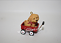 Hallmark 2001 Ready For A Ride Miniature Ornament QXM5302