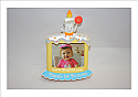 Hallmark 2014 Baby's First Birthday Photo Holder Ornament QGO1053