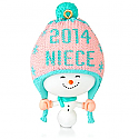 Hallmark 2014 One Fun Niece Ornament QGO1386
