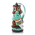 Hallmark 2013 Mint Chocolate Chipmunk Ornament QXG1312