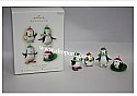 Hallmark 2008 Antarctic Antics Ornament set of 4 Miniature QXM8347