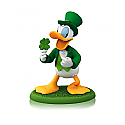 Hallmark 2014/2015 Lucky Donald Disney Ornament 8th in the monthly series QHA1029