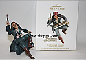 Hallmark 2011 Captain Jack Sparrow Ornament Pirates of the Caribbean QXD1007