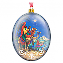 Hallmark 2016 We Three Kings Glass Ornament QGO1334