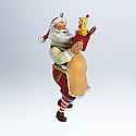 Hallmark 2012 Toymaker Santa Ornament 13th in Toymaker Santa Series QX8121