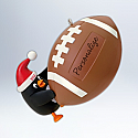 Hallmark 2012 Football Star Ornament Personalize QXG4474