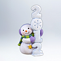Hallmark 2012 Frosty Fun Decade Ornament 3rd in the series QX8284