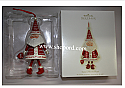 Hallmark 2009 Santas Merry Heart Ornament KOC QXC9025