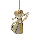 Enesco Foundations Christmas Angel Ornament 4026892