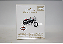 Hallmark 2010 Harley Davidson 1972 XR 750 Miniature Ornament Harley Davidson Motorcycles 12th in the Series QXM9026