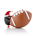 Hallmark 2013 Football Star Ornament Stickers included QXG1045