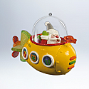 Hallmark 2012 Santas Sweet Ride Ornament 6th in the series QX8164