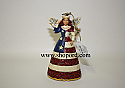 Jim Shore Star Spangled Beauty Angel Hanging Ornament 4041119