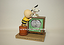 Hallmark Peanuts Charlie Brown and Snoopy When Life Gets Fuzzy Water Globe Figurine PAJ4623