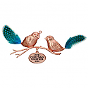 Hallmark 2016 Our Christmas Together Love Birds Ornament QGO1281