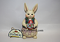 Jim Shore Share An Easter Treasure Small Easter Bunny Holding Egg Figurine 4025799