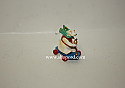 Hallmark 1999 Roll A Bear Miniature Ornament QXM4629