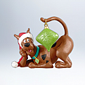 Hallmark 2012 Very Merry Scooby Ornament Scooby Doo QXI2824