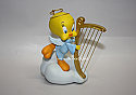 Hallmark 2005 Tweety Plays An Angel Ornament Looney Tunes QXI8762